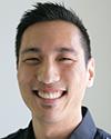 A portrait of Calvin Kwan, ND